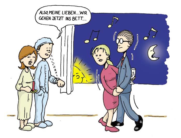 abschied - verhalten im geschäftsleben in deutschland, Einladung