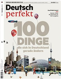 The popular language magazine for all learning German - recommended by Sprachinstitut TREFFPUNKT Online
