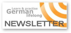 Newsletter German sign-up